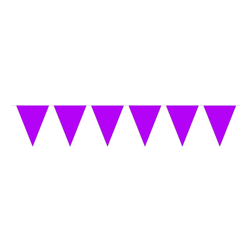 Flaggirlang Lila