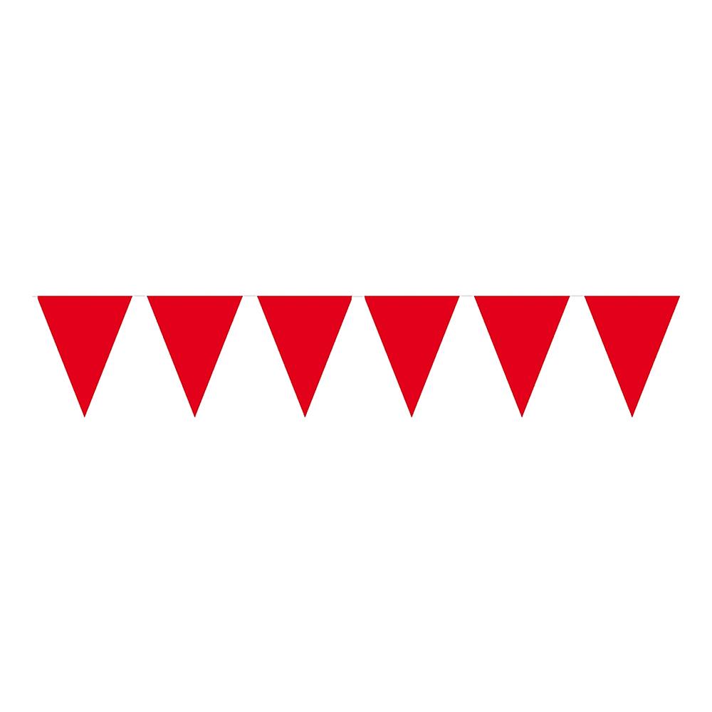 Flaggirlang Röd