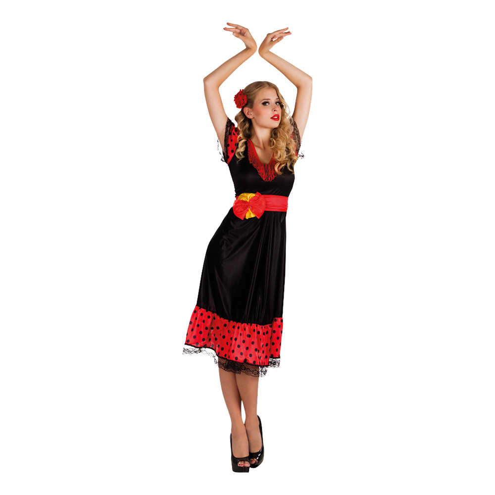 Flamenco Maskeraddräkt - Small