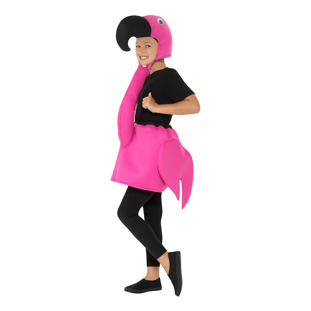 Flamingo Barn Maskeraddräkt - One size
