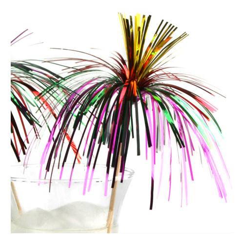 Flerfärgade Glitterpinnar - 24-pack