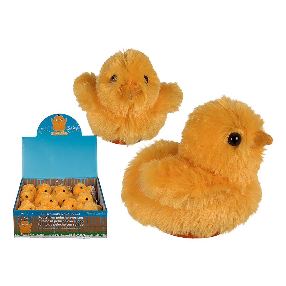 Fluffig Kyckling med Ljud