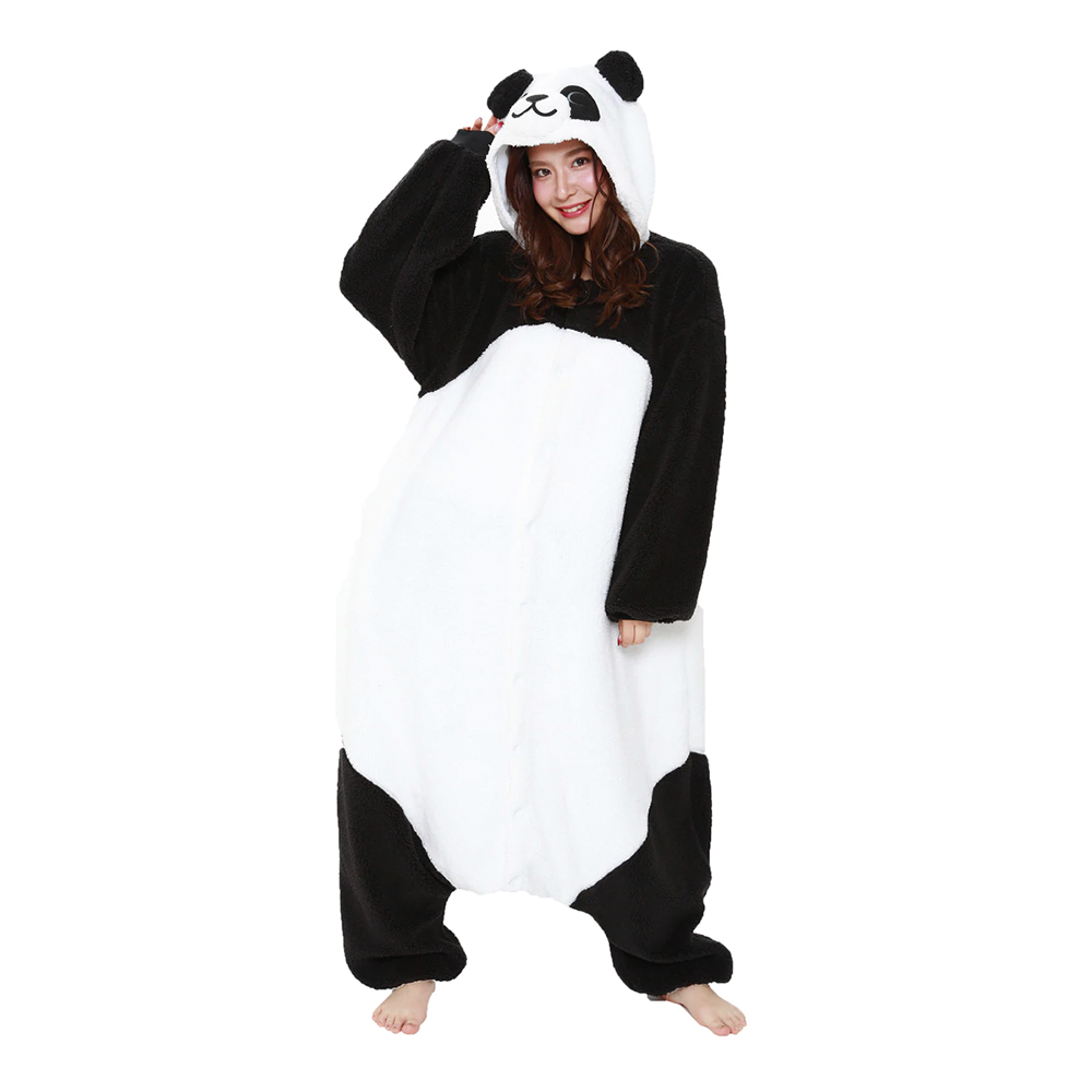 Fluffig Panda Kigurumi - One size