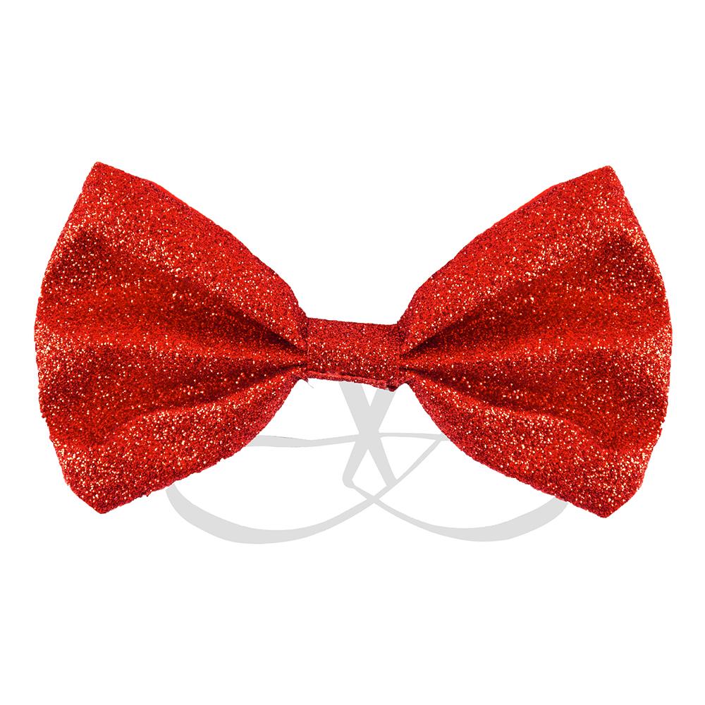 Fluga Glitter Röd