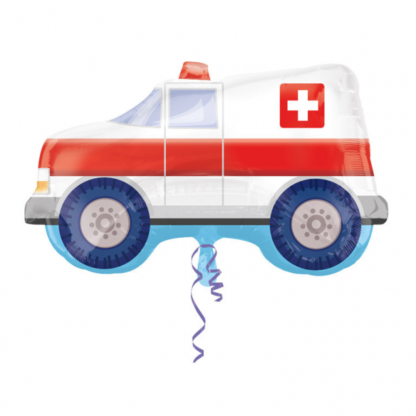 Folieballong Ambulans