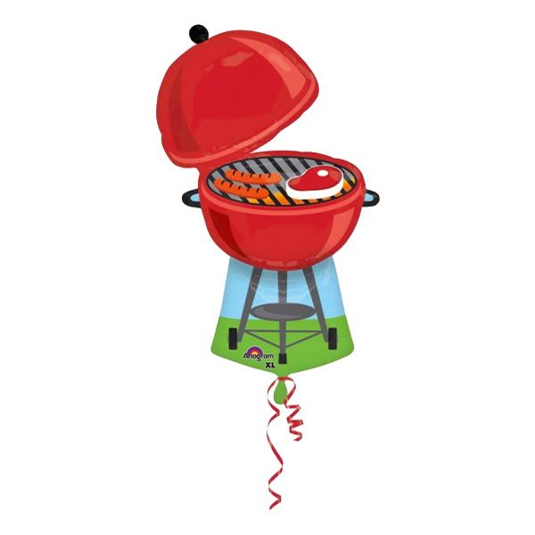 Folieballong Grill med Kött