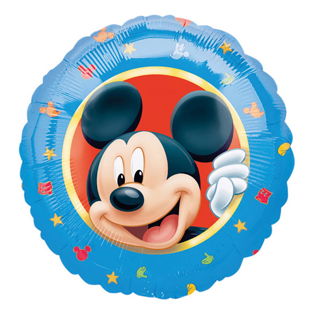 Folieballong Musse Pigg
