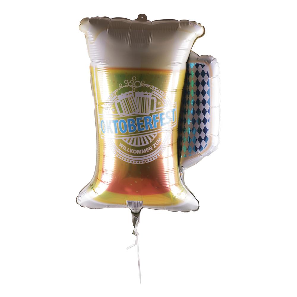 Folieballong Oktoberfest Bägare