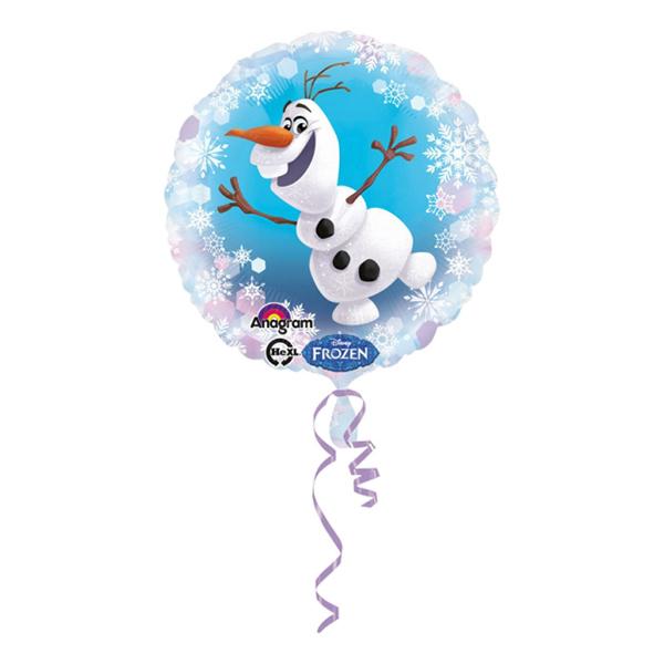 Folieballong Olaf