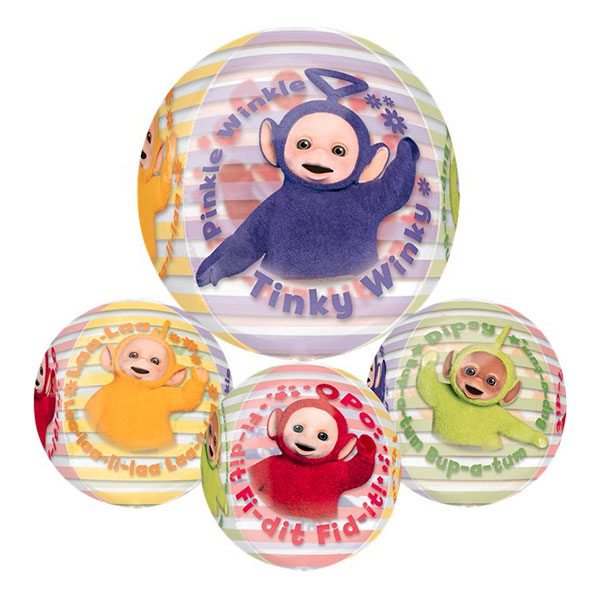 Folieballong Orbz Teletubbies