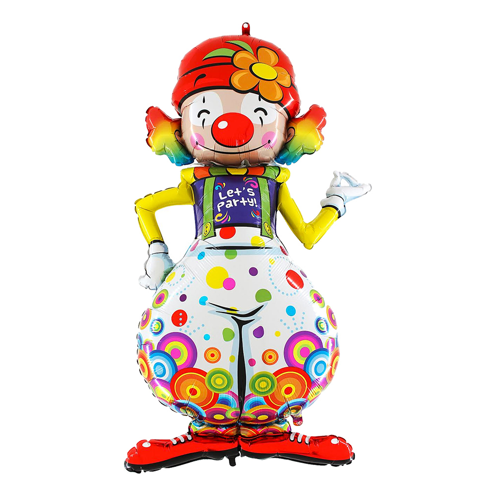 Folieballong Party Clown