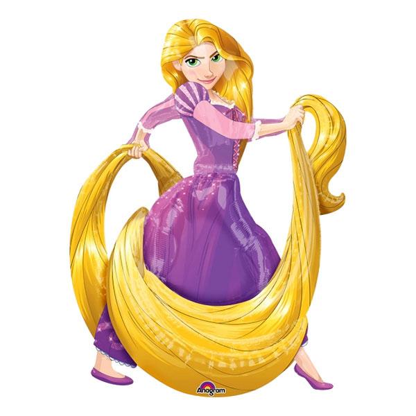 Folieballong Rapunzel Airwalker