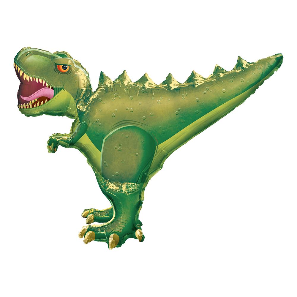 Dinosaurie - Folieballong T-Rex Shape