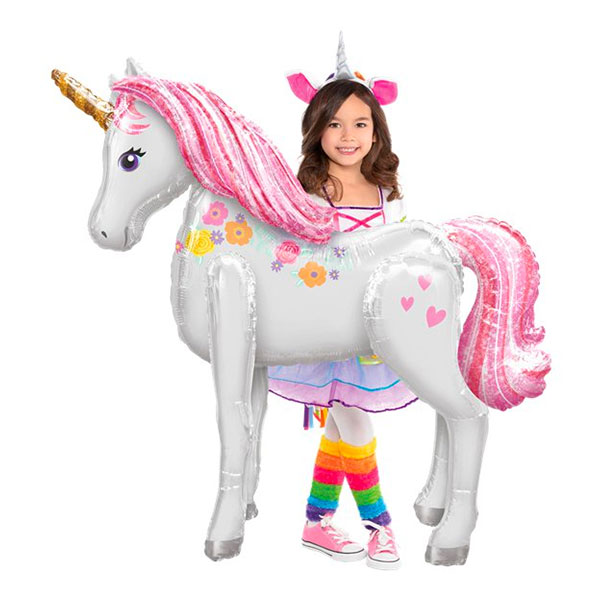 Folieballong Unicorn Airwalker
