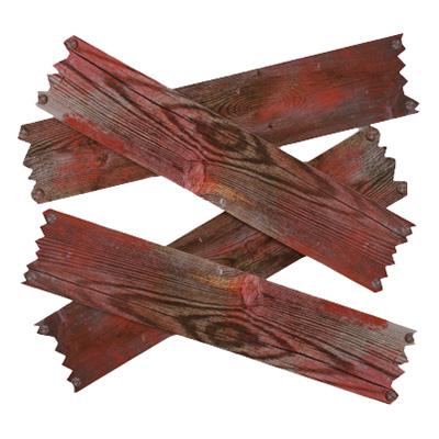 Fönsterbrädor med Blod Prop - 4-pack