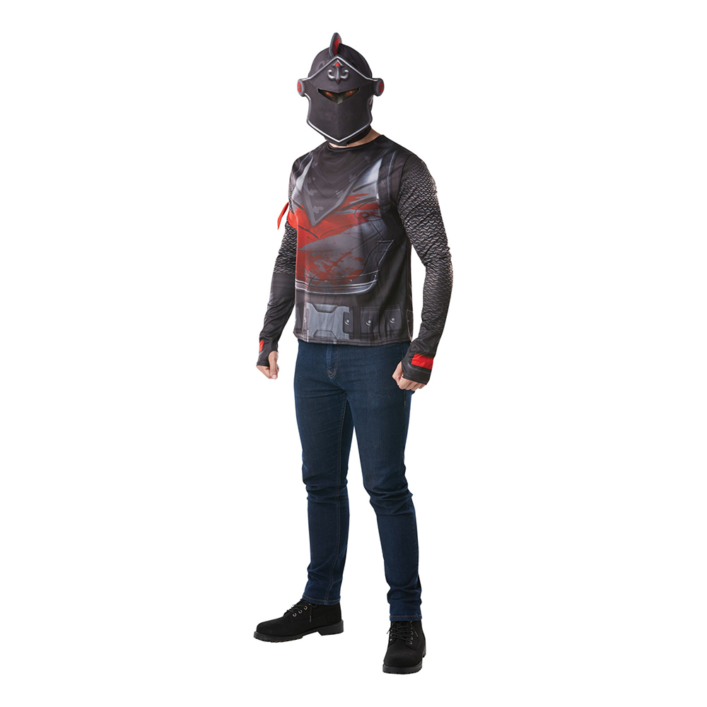 Fortnite Black Knight Budget Maskeraddräkt - Small