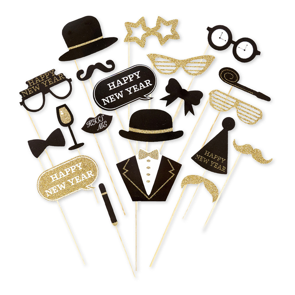 Foto Props Happy New Year - 20-pack