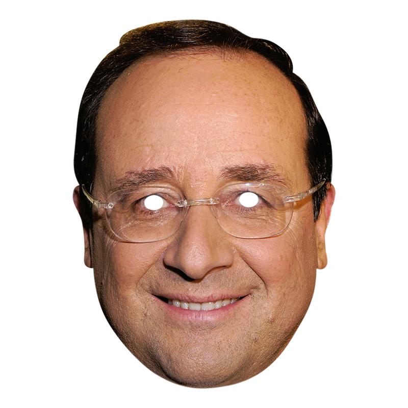 Francois Hollande Pappmask