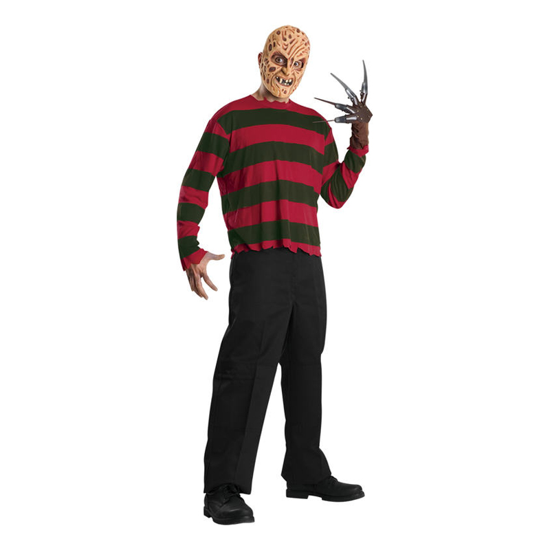 Freddy Krueger Budget Maskeraddräkt - Standard