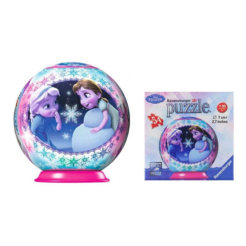 Frost/Frozen 3D Pusselboll