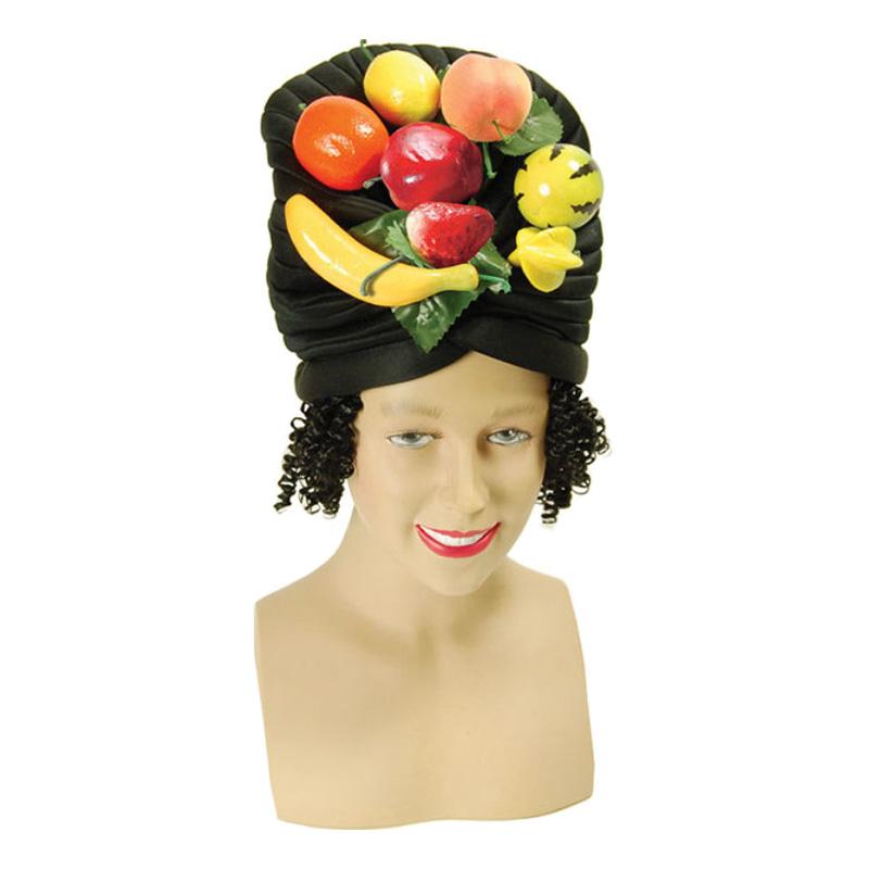 Frukthatt med hår - One size