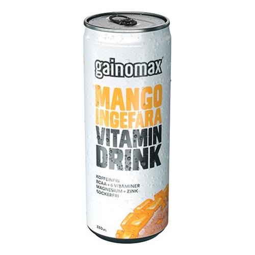 Gainomax BCAA Mango/Ingefära - 1-pack