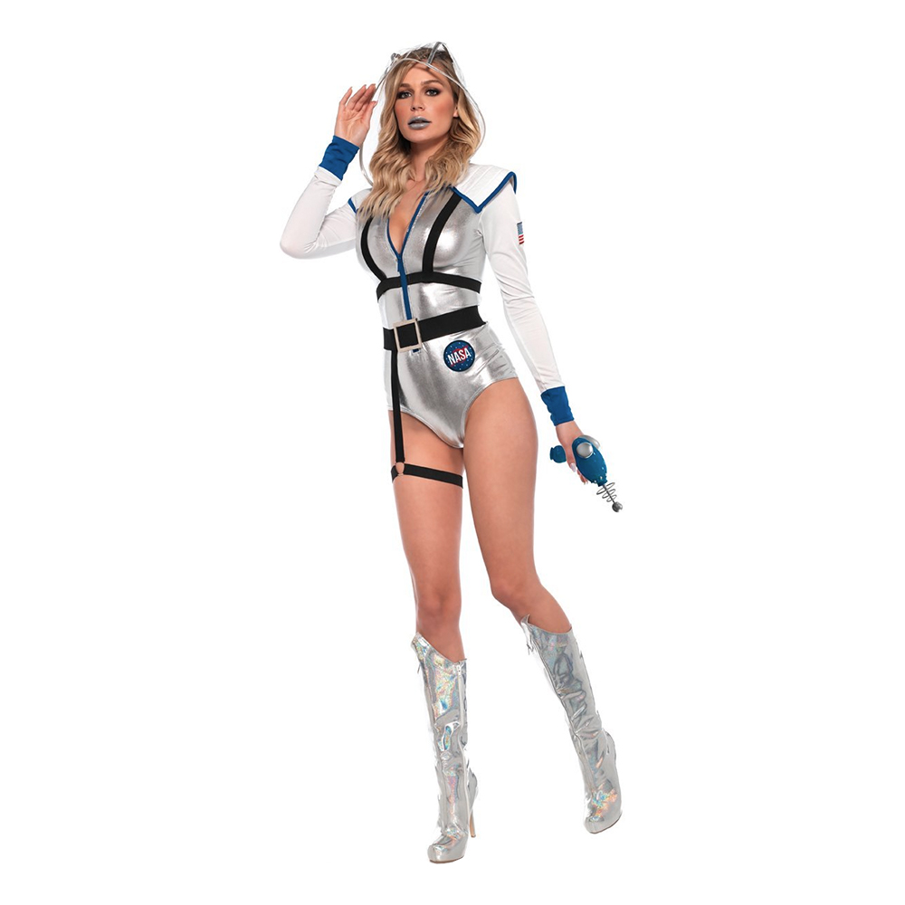 Galaxy Girl Bodysuit Deluxe Maskeraddräkt - Medium