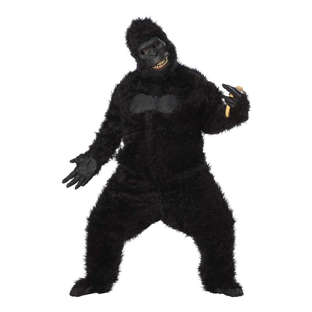 Galen Gorilla Deluxe Maskeraddräkt - One size