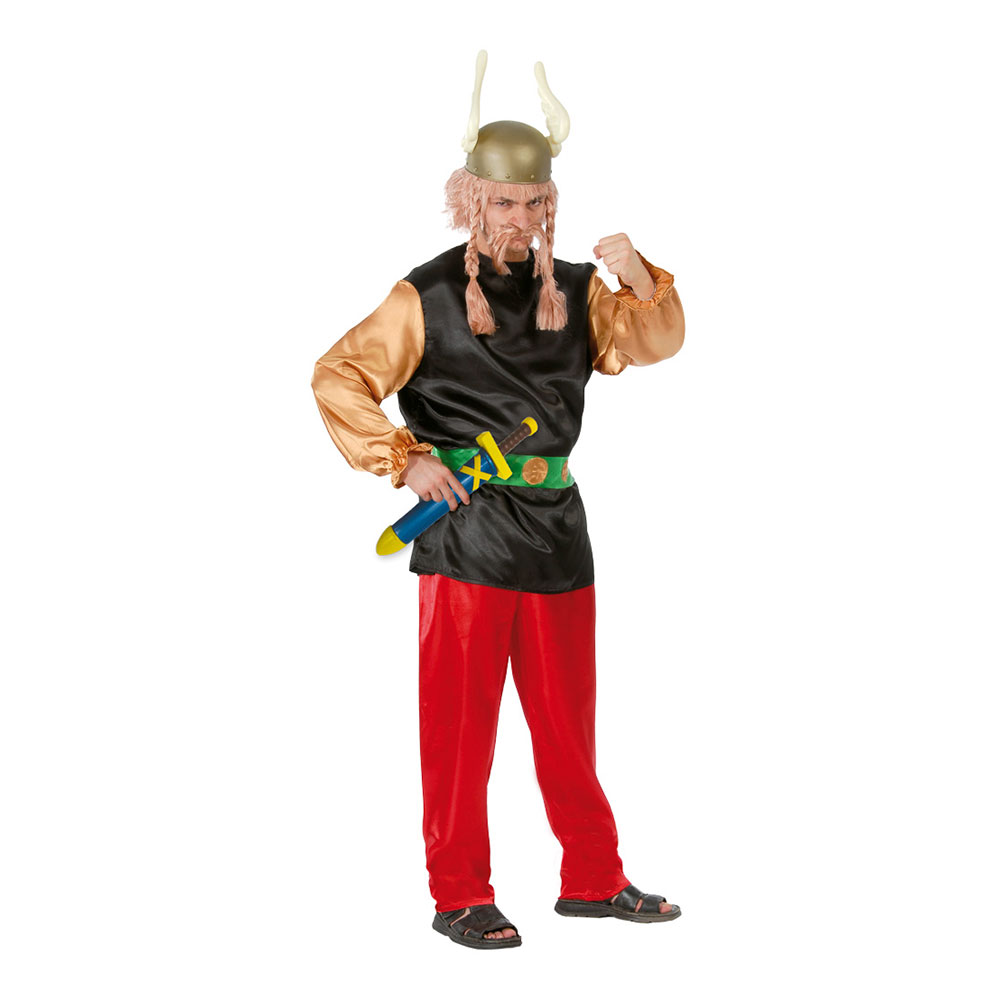 Gallisk Viking Maskeraddräkt - One size