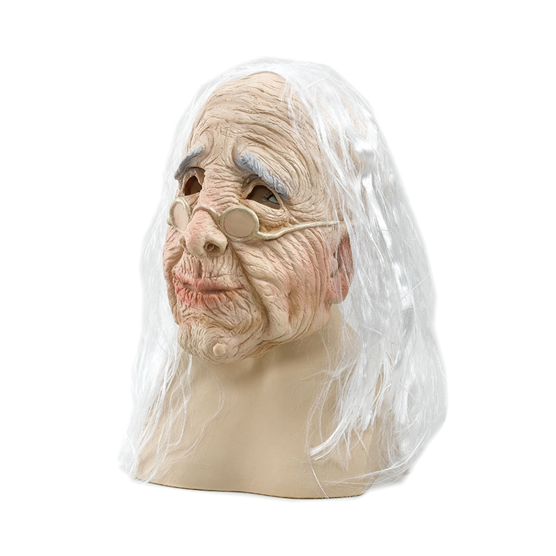Gammal Kvinna Mask - One size