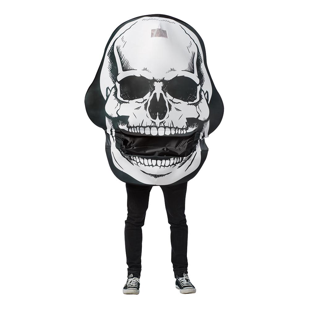 Gigantisk Döskalle Maskeraddräkt - One size