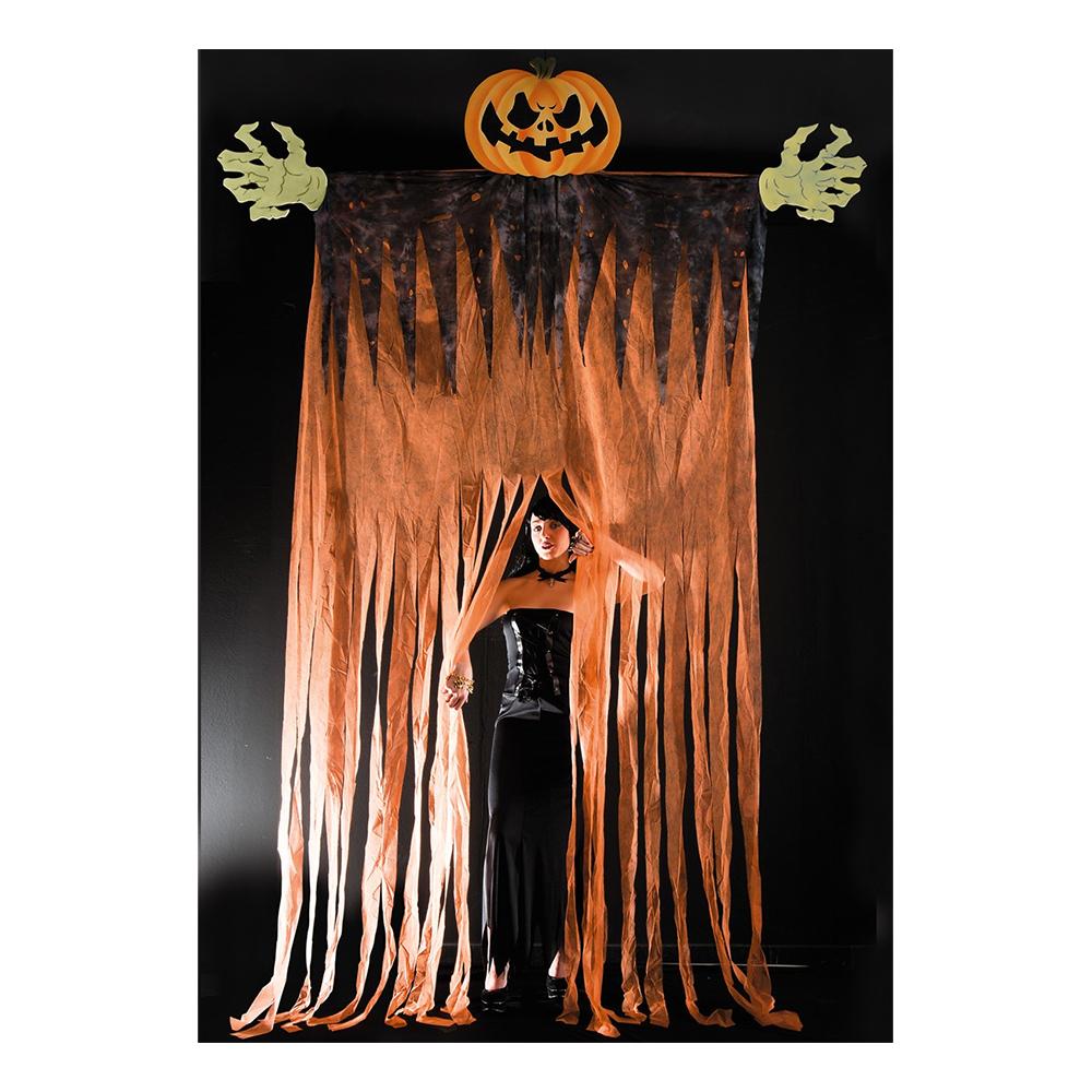 Gigantisk Halloweenpumpa Hängande
