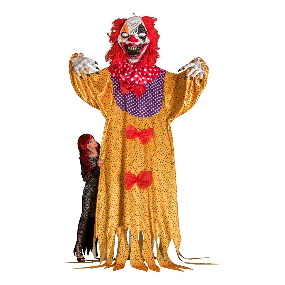 Gigantisk Hängande Clown Prop