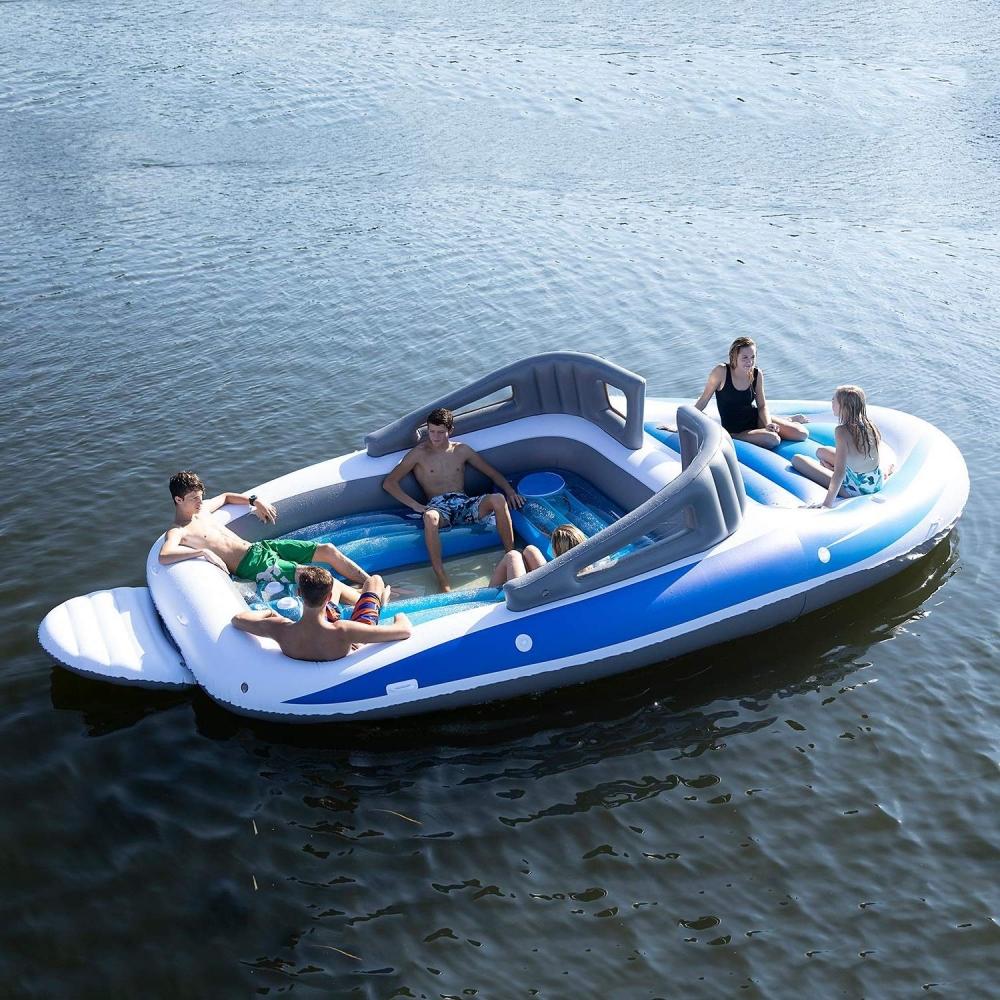 Gigantisk Uppblåsbar Motorbåt