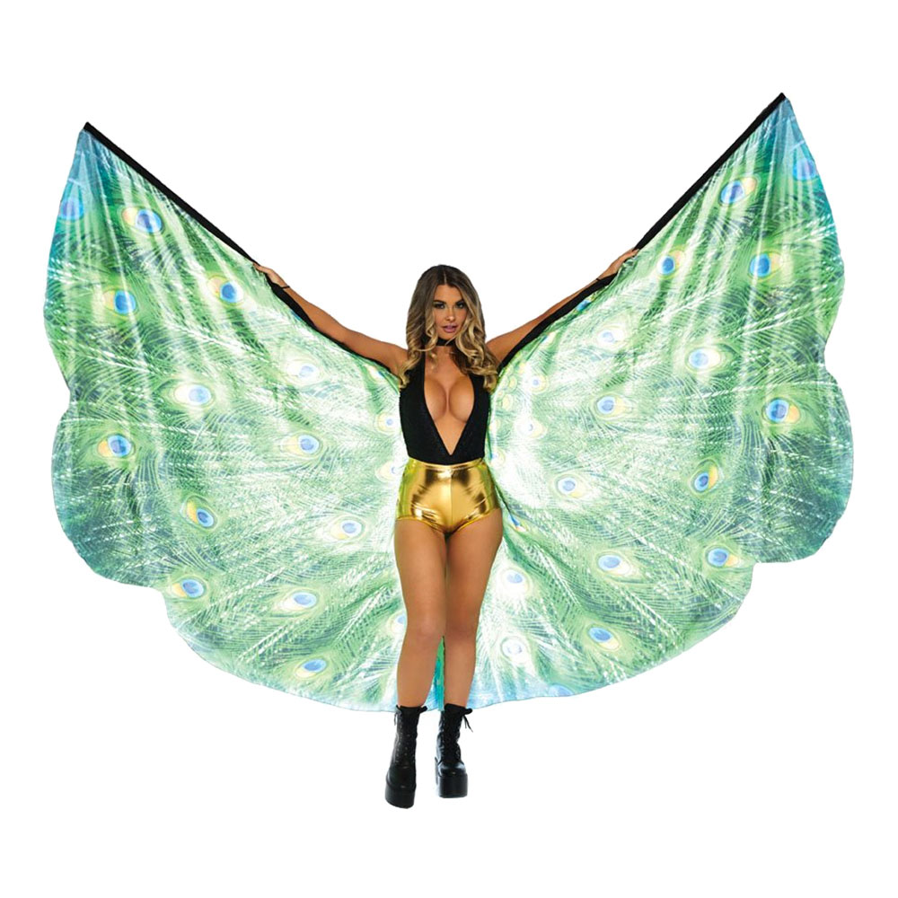 Gigantiska Påfågelvingar Deluxe
