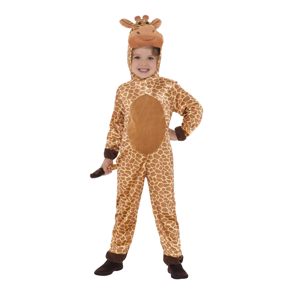 Giraff Jumpsuit Barn Maskeraddräkt - Small