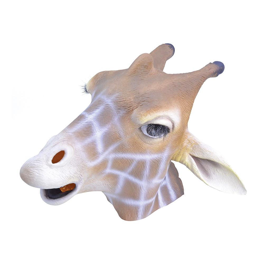 Giraffmask i Gummi - One size