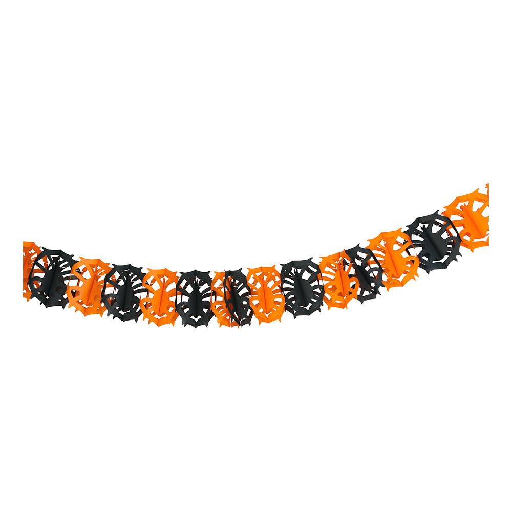 Girlang Spindlar Svart/Orange