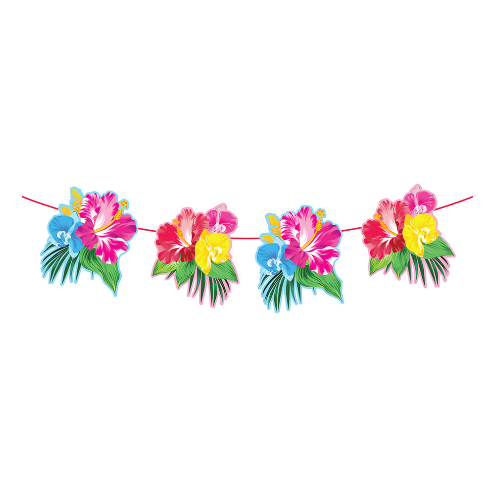 Girlang Tropiska Blommor