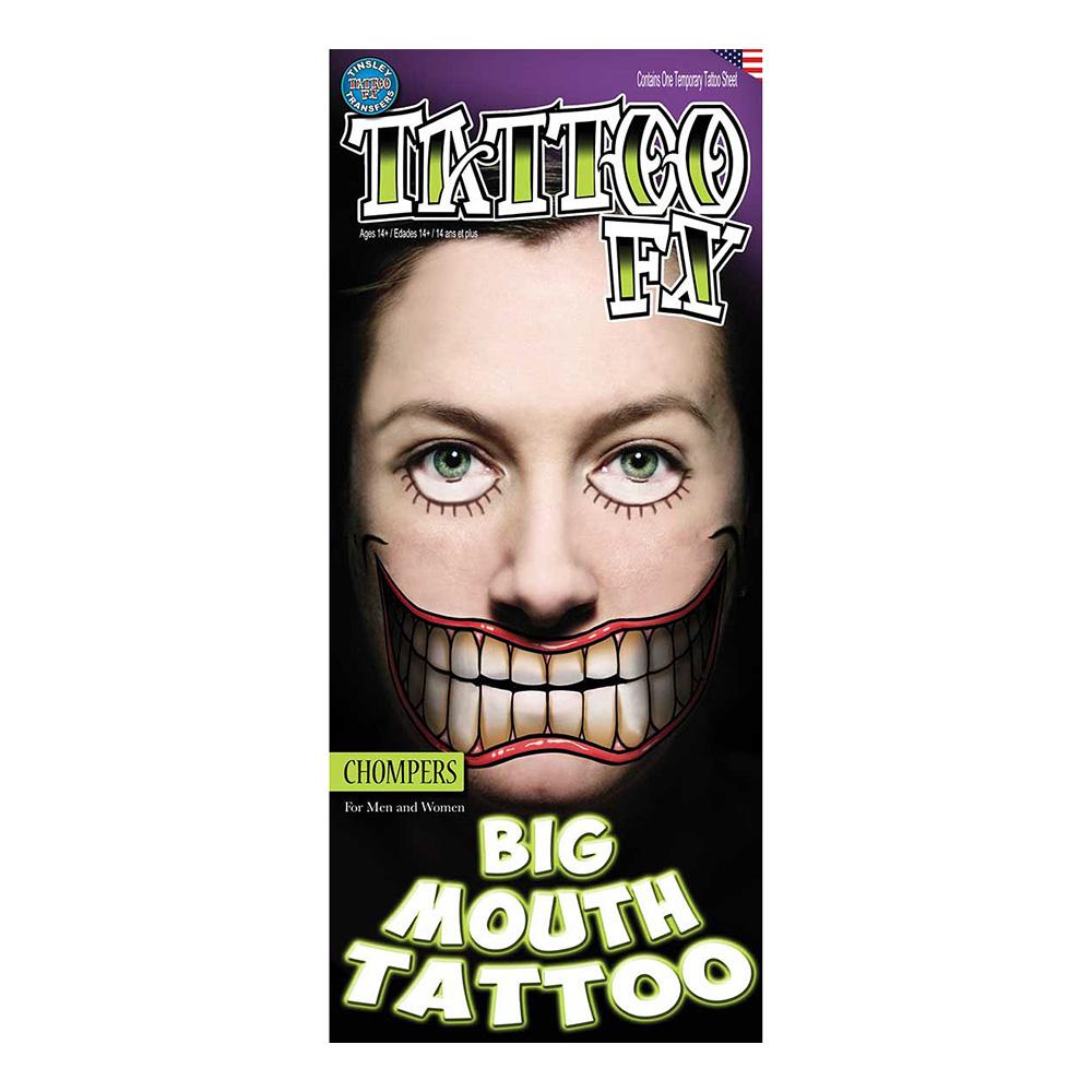 Glad Jättemun Tatuering FX - 2-pack