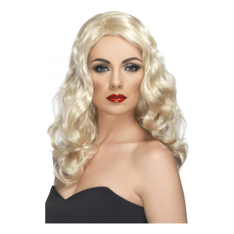 Glamour Blond Peruk - One size