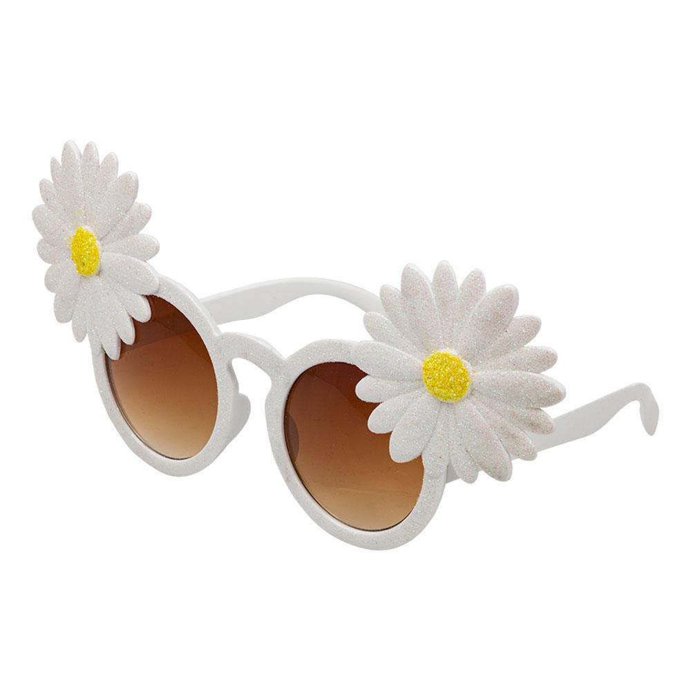 Glasögon Blommor