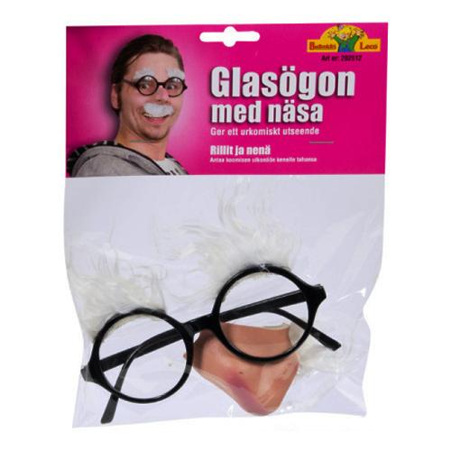 Glasögon med Gumminäsa