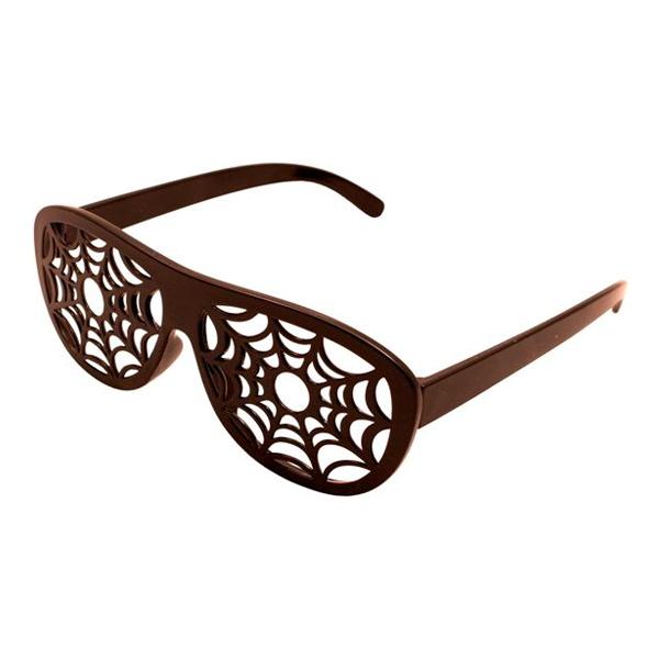 Glasögon med Spindelnät