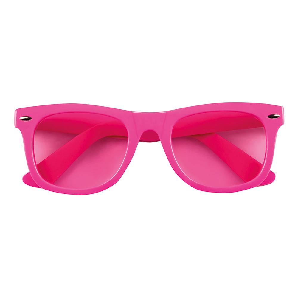 Glasögon Neonrosa
