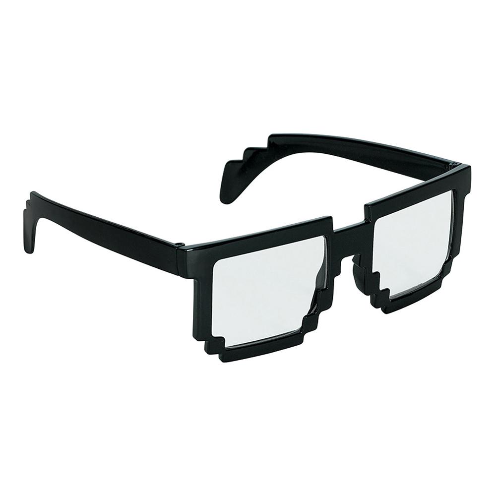 Glasögon Pixel Svart