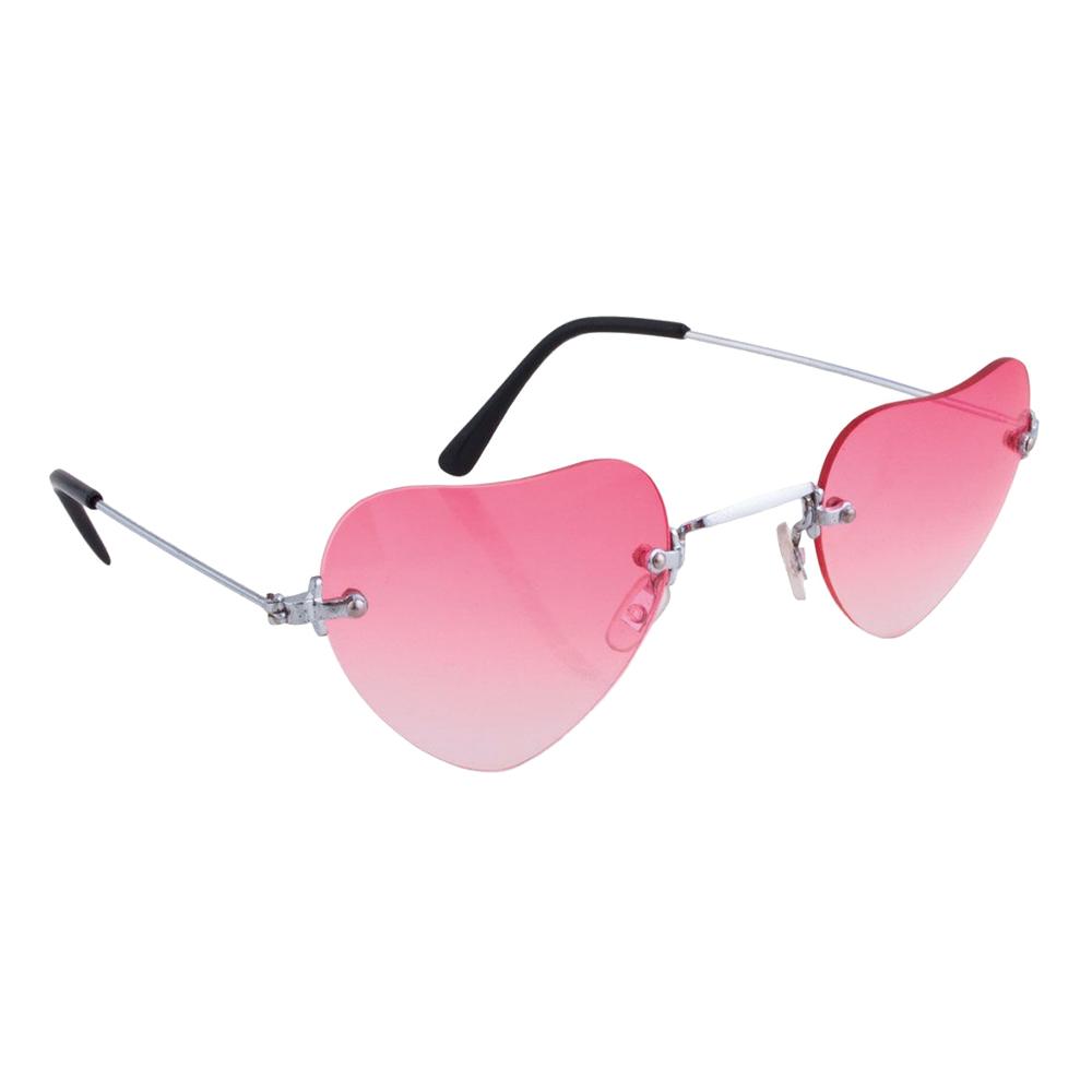 Glasögon Rosa Hjärtan