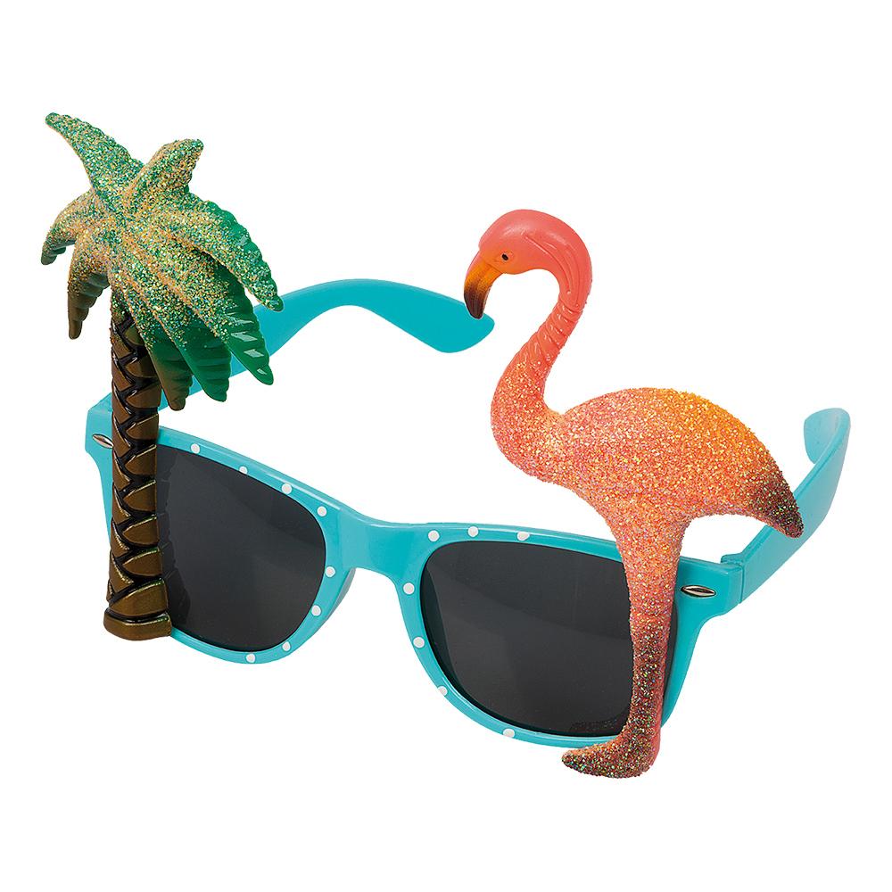 Glasögon Tropisk
