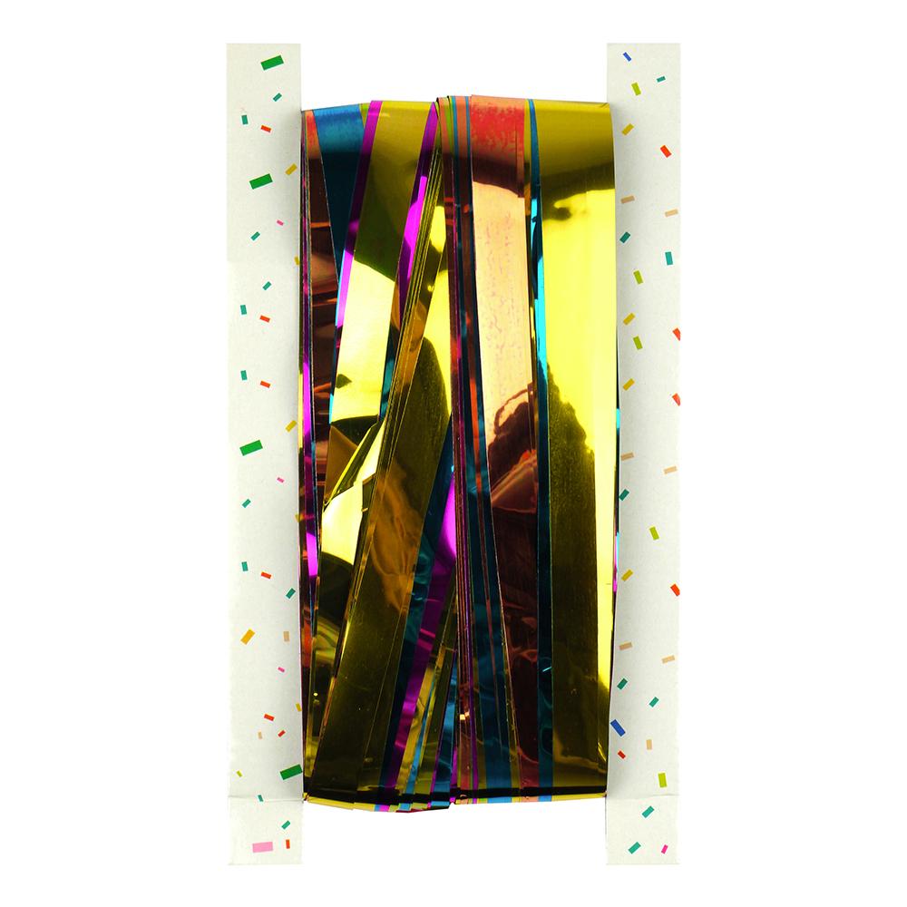 Glitterdraperi Flerfärgad