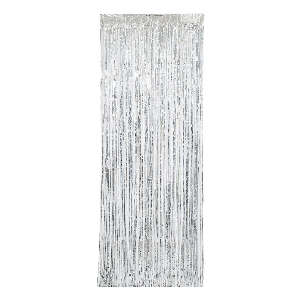 Glitterdraperi Silver